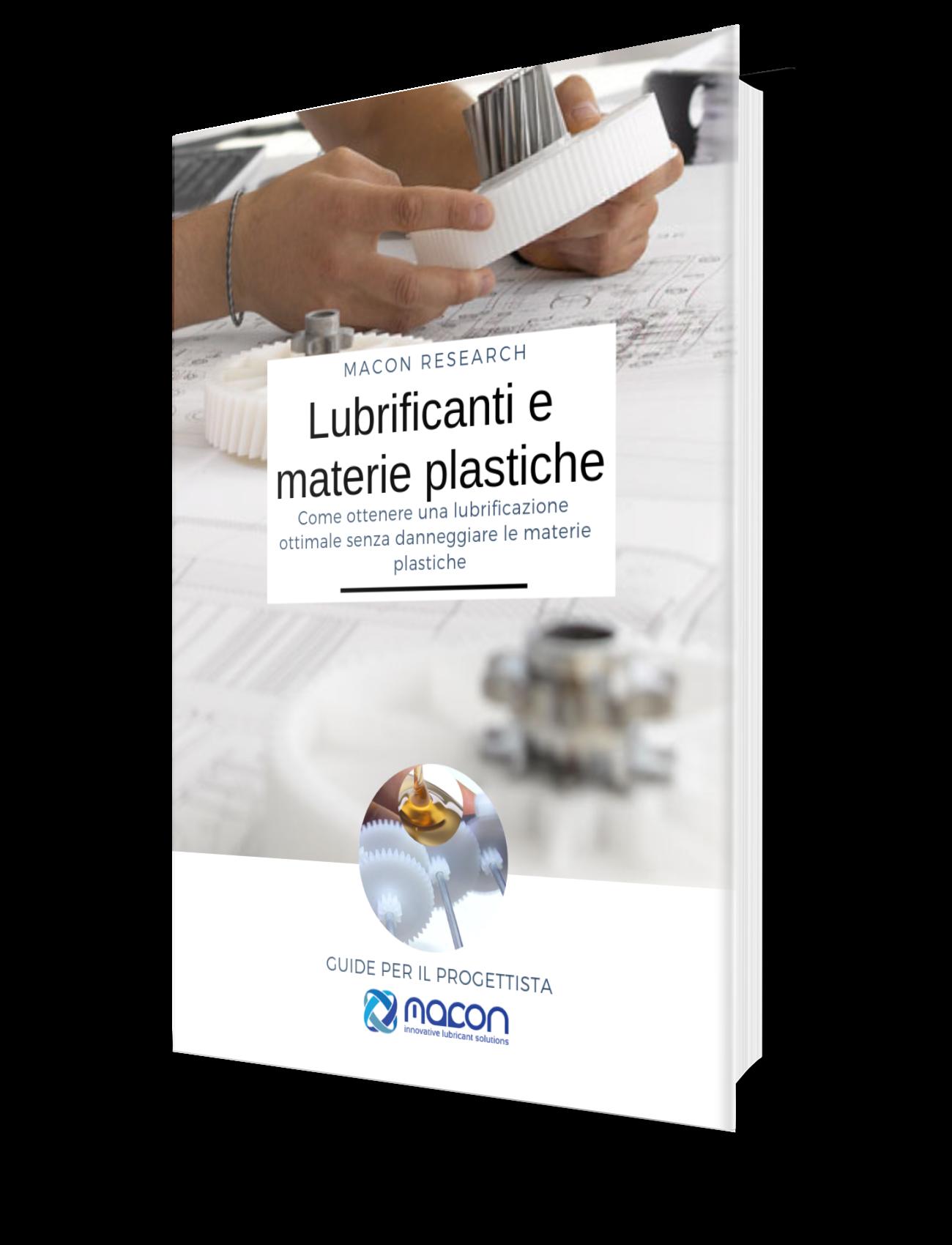 guida lubrificanti materie plastiche