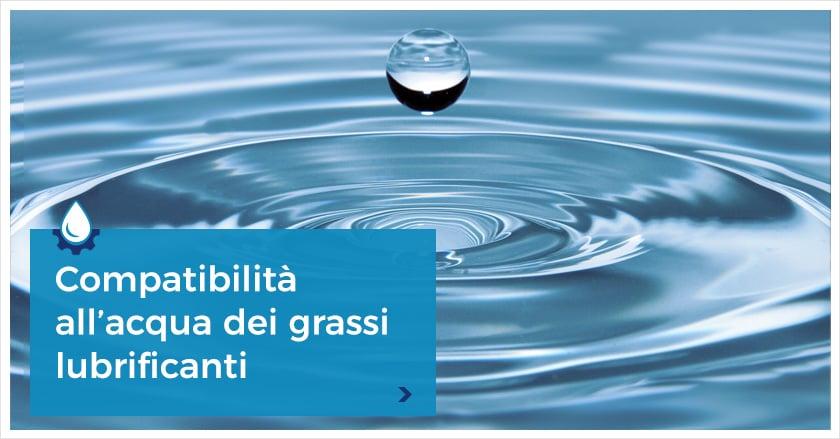 Grasso resistente all'acqua: composizione e applicazioni