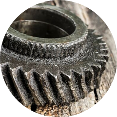 usura meccanica ingranaggi elicoidali lubrificazione