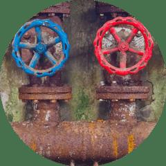ossidazione e corrosione di scambiatore di calore valvole oli protettivi