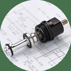 valvola pneumatica lubrificazione per riduzione attrito