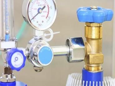 Esempio di valvola regolazione ossigeno
